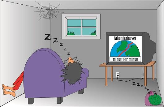 Tektonikk er så langsomt at selv sneglene sovner.
